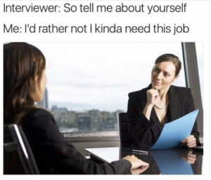 Funniest job interview ever